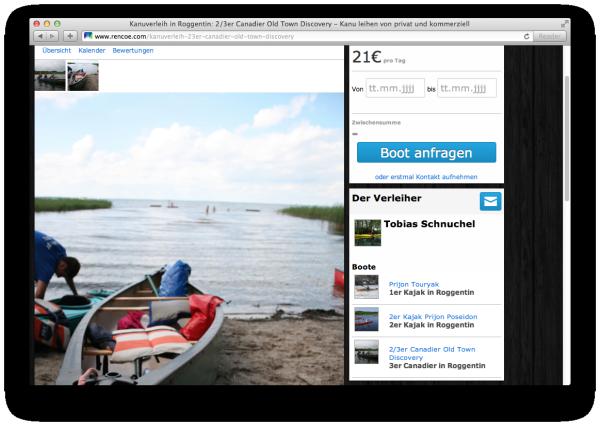 screenshot RENCOE.com